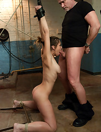 Two Horny Babes Get Handled Rough
