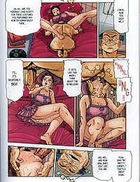 Sweet sex comics' diva is forced to fuck hard