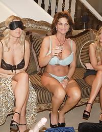 Milf lesbian sex party