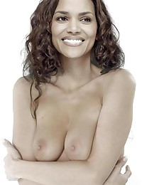 See how Halle Berry turns simple nudity into erotic art