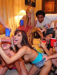 Wild Interracial Sex Party
