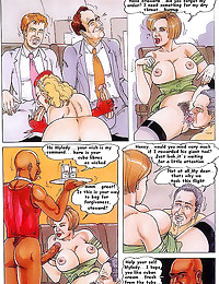 Hardcore comic with sexy dial...