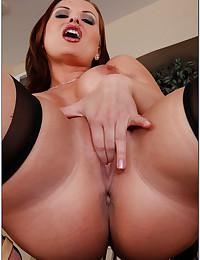 Naughty Miss Katja Fingers Herself