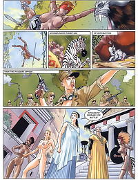 Comic set in Ancient Rome