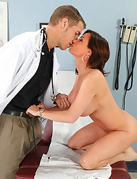 Foxy patient and her hung doctor