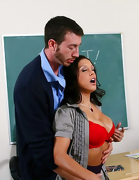 He nails his hot teacher