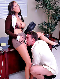 Secretary is an office whore