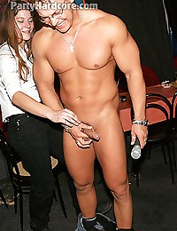 Male strippers fucking some of their amateur fans