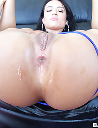 Round Assed Goddess Gets Anal Plowed