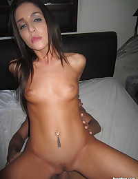 Tight Bodied Brunette Minx Fucks Dick