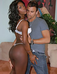 Dark Skinned Ebony Jayden Gets Boned