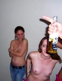 Drunken amateurs behave badly