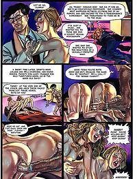 Kinky comic with dirty play