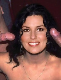 May be Shania Twain is good with microphone... but she is much better with cocks!