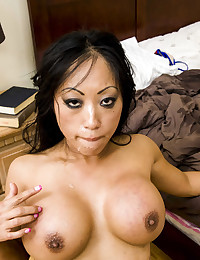 Tattooed Asian slut hardcore