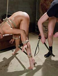 Fucking rope bondage slut