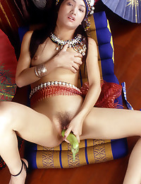 Sexy Asian Gypsy Fucks Herself