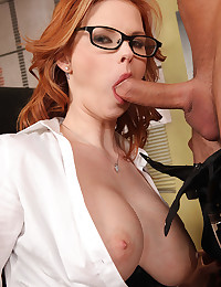 Elegant Looking Redhead Gets Ravaged