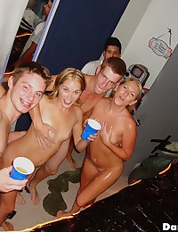 Check out these amazing college babe partys get wild in these hot group sex college dorm room pics