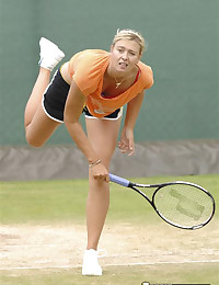 Maria Sharapova Upskirting Tennis Hottie