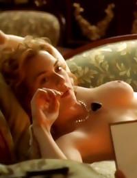 Kate Winslet natural titties