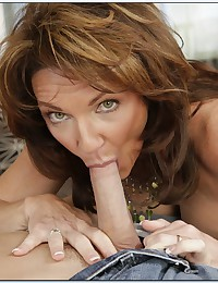 Horny Mature Babe Pleasures Young Cock