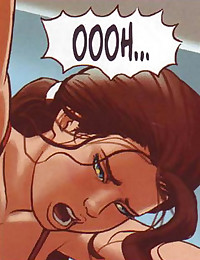 Comics' hottie gets banged in various positions