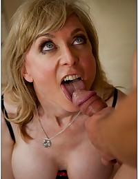 Naughty Mature Babe Nina Rides Dick