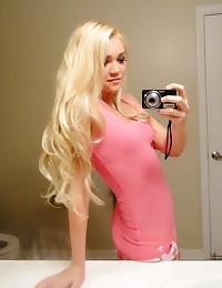 Teen blonde GF wants cock