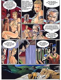 Detailed hardcore porn comic