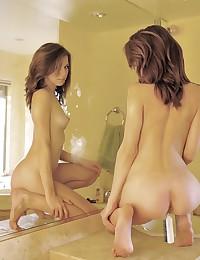 Allie poses naked for FTV Girls.