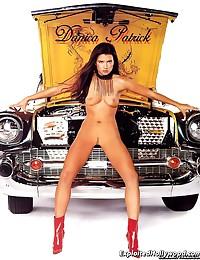 Hottie Dannica Patrick totally nude!