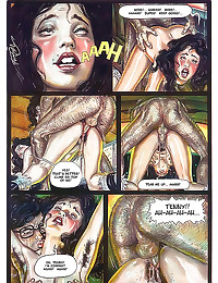 In depth erotic comic sex