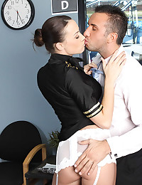 Airline pilot fucked hard