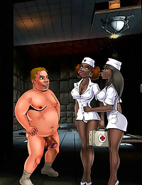 Cartoon interracial sex sizzl...