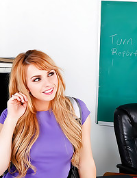 Lexi Belle is teachers pet