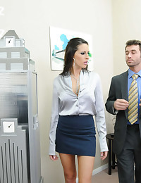 Busty Office Babe Kortney Kane