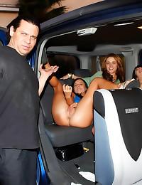 Sex party in the van
