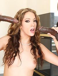 Jenna Eats Two Black Lollipops