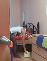 Horny lad banging a lovely babysitter