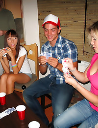 College party with hot suckin...