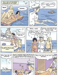 Naughty comic with old man se...