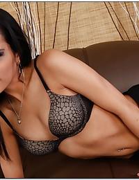 Skinny Latina is naked