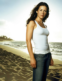 Evangeline Lilly is stunningl...