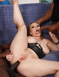 Naughty Vicky Enjoys Black Cock