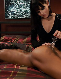 Kinky role play with anal domination and butt hole stretching.