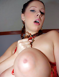 Gianna Michaels has giant tits