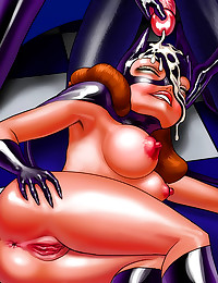 Batman cartoon porn sizzles