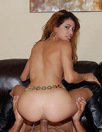 Latina lusts for big cock