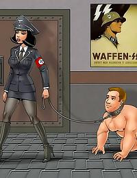 Femdom cartoon comic fetish